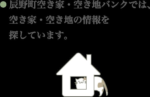 空き家募集