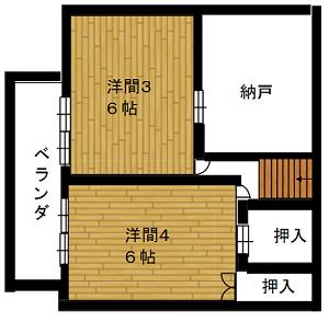 008間取り図2階